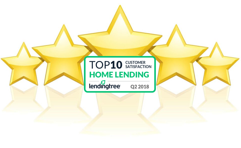 Intelliloan Named LendingTree Top Ten Lender For Q2 2018